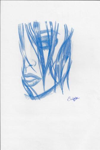 Etude en bleu